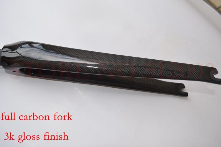 full carbon fiber road bike bicycle front fork 1/8