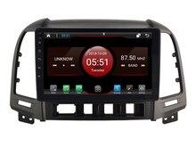 Elanmey Топ оснащен 8 ядром + 64G rom android 8,1 автомобильный радиоприемник для HYUNDAI Santa Fe 2006-2012 Авто AC HU DSP Gps мультимедийное головное устройство