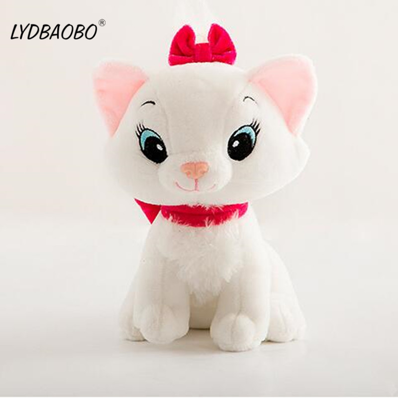 1pc 20cm The Aristocats Cat Plush Toys Marie Cat Plush Animals Toys Stuffed Plush Marie Cat Toys Children Gifts Birthday Gifts