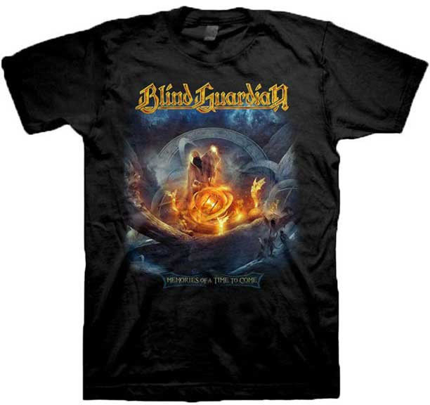 Style Casual Short Sleeved T Shirt Male Original Blind Guardian Memories Men T Shirt