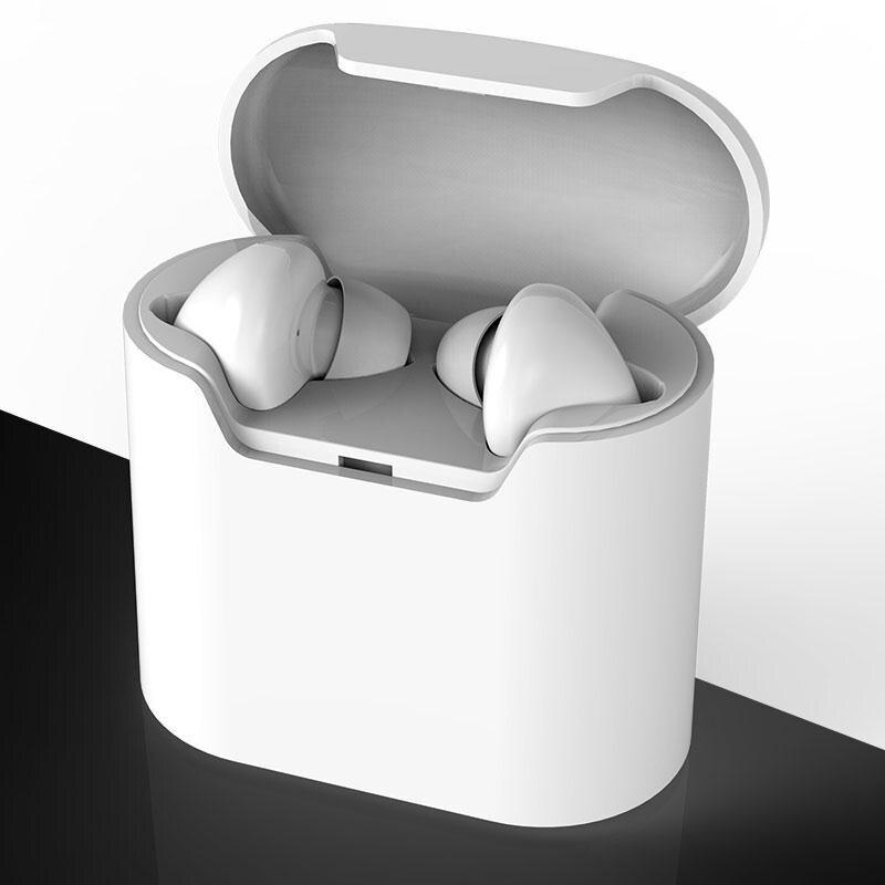 bilder für Mini Drahtlose Bluetooth 4,2 Kopfhörer Ohrhörer TWS 2 Kopfhörer Headset mit Microphoe Für IPHONE 6 Für IPHONE 7 Puls 5 S Xiaomi