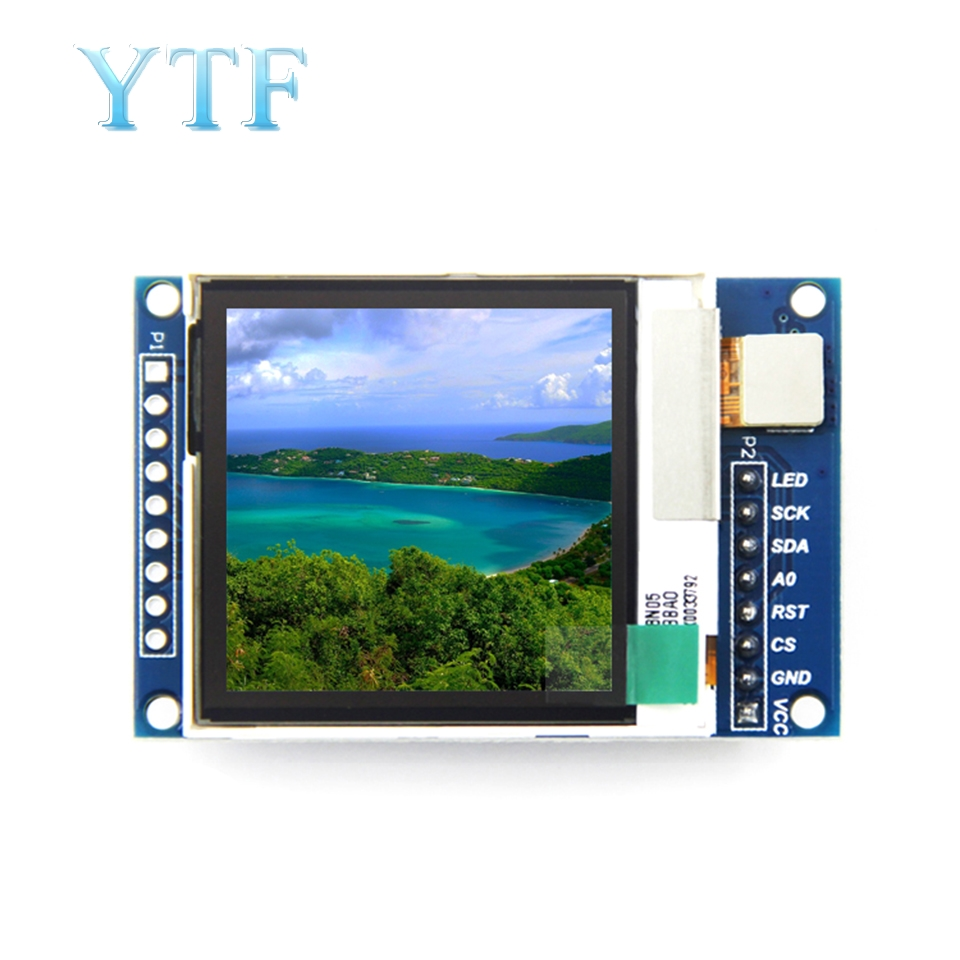 1.6-Inch SPI Serial LCD TFT Module 130*130 Semi-Transparent And Outdoor Screen Visible Under Sunlight