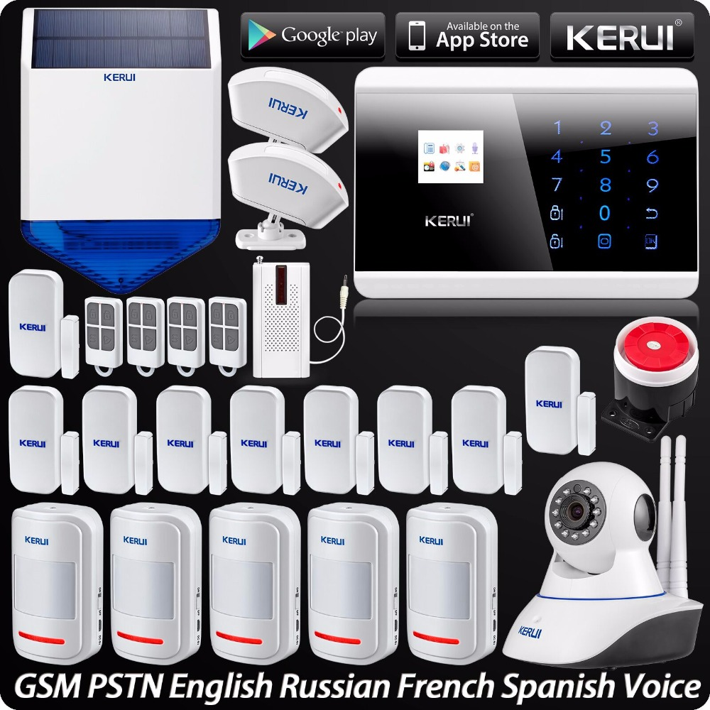 Popular Brand 3g Wifi Alarm System Wireless Home Security Alarm System Support Ios Android App Remote Control Sensor With Outdoor 720p Camera Back To Search Resultssecurity & Protection Alarm System Kits