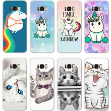 สำหรับ iPhone X Xs Max XR 5 SE 6s S 8 7 Plus สำหรับ Coque Samsung Galaxy S3 S4 s5 mini S6 S7 Edge S8 S9 Plus Grand Prime Cat TPU กรณี(China)
