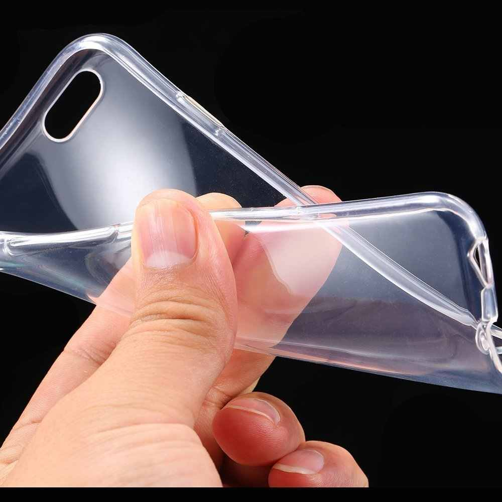 Clear Transparent Case Voor iphone XS Max XR 7 8 Plus 7plus 8plus 6 6S 5 5s se Cover Soft Silicon Voor iphone XS Max Gevallen