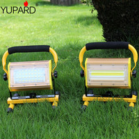 Yupard 100W Wide Angle Projection Lamp Light LED Portable Lantern Collapsible Tent Lamp Waterproof Outdoor Camping Work Light