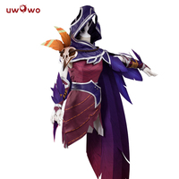 UWOWO Game LOL Xayah Cosplay Women The Rebel Costume Women Halloween Christmas Carnival Cosplay Costume