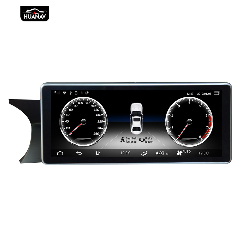 Android 9 10,25 ''Auto-DVD-spieler GPS-Navigation Für Mercedes-Benz C <font><b>W204</b></font> 2011-2014 Auto <font><b>Radio</b></font> stereo -player multimedia head unit image