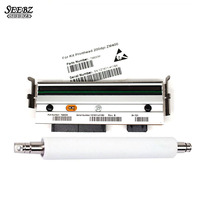 79800M Printhead Print Head 79815M Platen Roller Compatible For Zebra ZM400 203dpi New Thermal Barcode Label