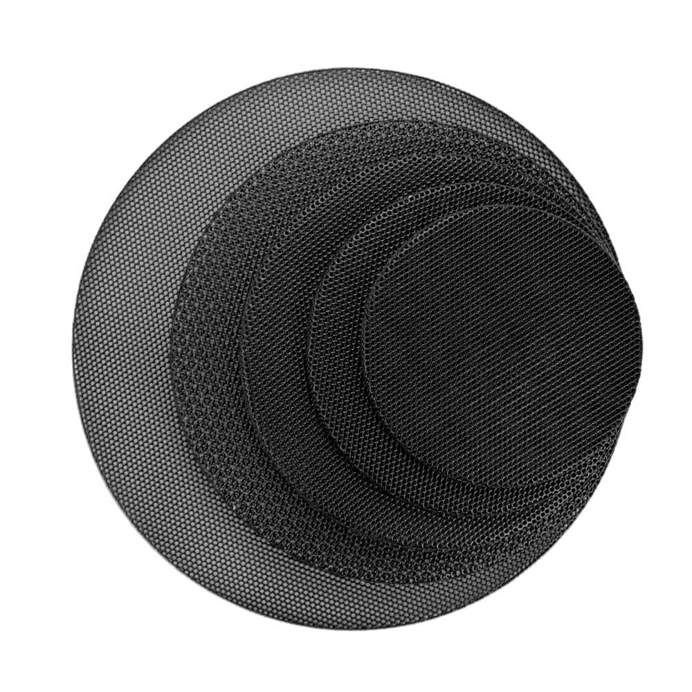 AIYIMA 2Pcs Audio Speakers Protective Cover 1/2/3/4/5/6.5 Inch Protective Mesh Net Grille DIY For Home Theater