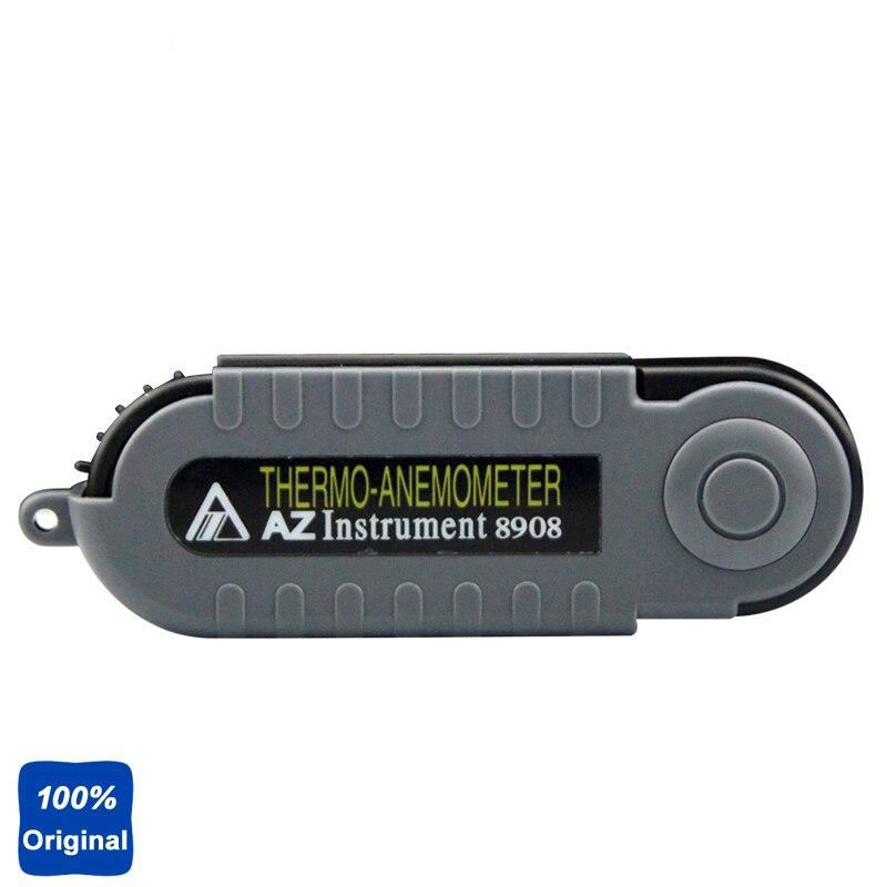 AZ-8908 Digital Pocket Wind Speed Meter Portable Anemometer