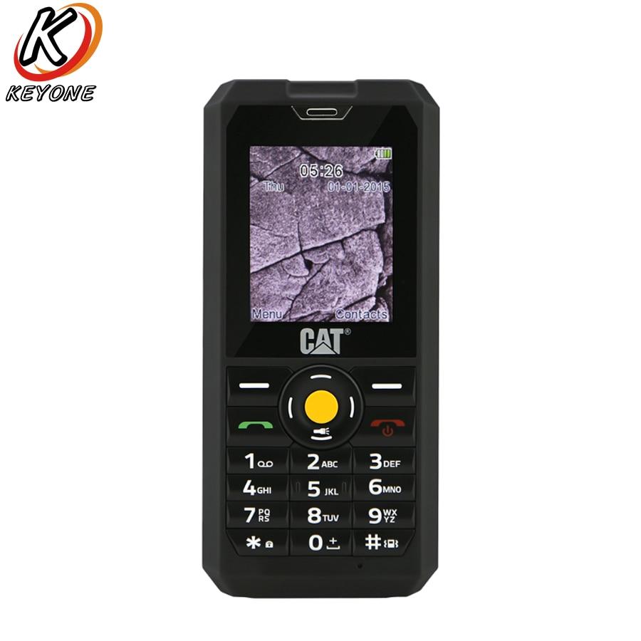 """New Original CAT B30 3G Mobile Phone 2.0"""" 64MB RAM 128MB ROM Spreadtrum 7701 IP67 Waterproof Dustproof Dual SIM 1000mAh phone"""