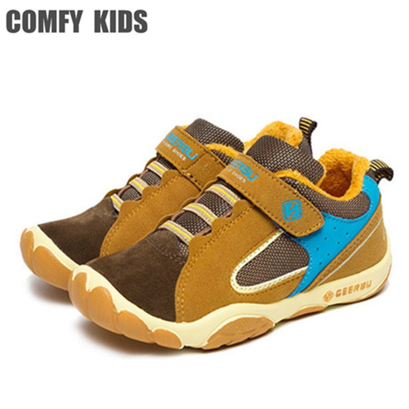 Autumn  Breathable Children Shoes Girls Boys Shoes New Brand Kids Leather Sneakers Sport Shoes Fashion  Children Boy Sneakers 2017 new autumn winter children pu leather sport running shoes for little boys big boys male fashion sneakers boys casual shoes