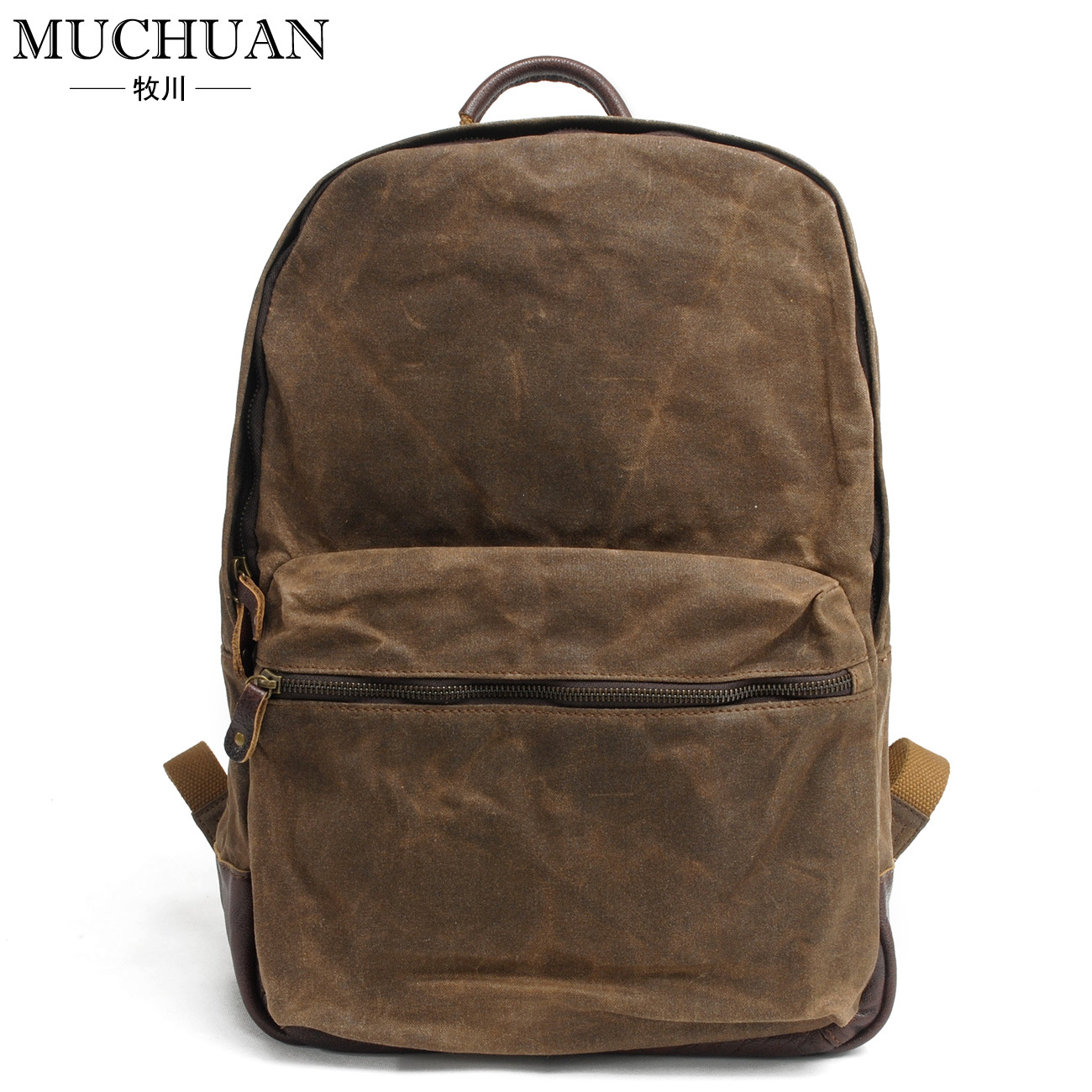 где купить Batik leisure backpack male money crazy horse leather backpack bag waterproof tide restoring ancient ways is the canvas bag по лучшей цене
