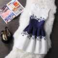 22 Colors Slim Fashion Sleeveless Summer Dress  Floral Pattern Dress Vestidos Women Dress Plus size 6l long Ukraine Beach Dress
