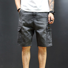 2019 Brand New Men Cargo Shorts Casual Cotton Loose Work Knee Length Sweatpant With Pocket 5XL