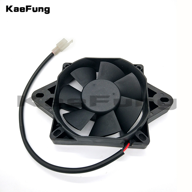 Motorcycle 12 Volt Oil Cooler New Electric Radiator Cooling Fan For 200 250 Cc Chinese Atv Quad Go Kart Buggy