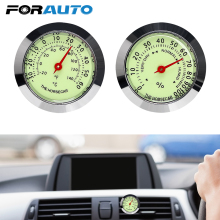 FORAUTO Car Styling Luminous Thermometer Hygrometer Automobi
