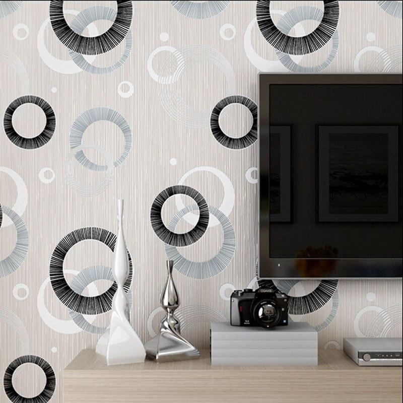 Modern Luxury Circle Design Wallpaper 3d Stereoscopic Mural