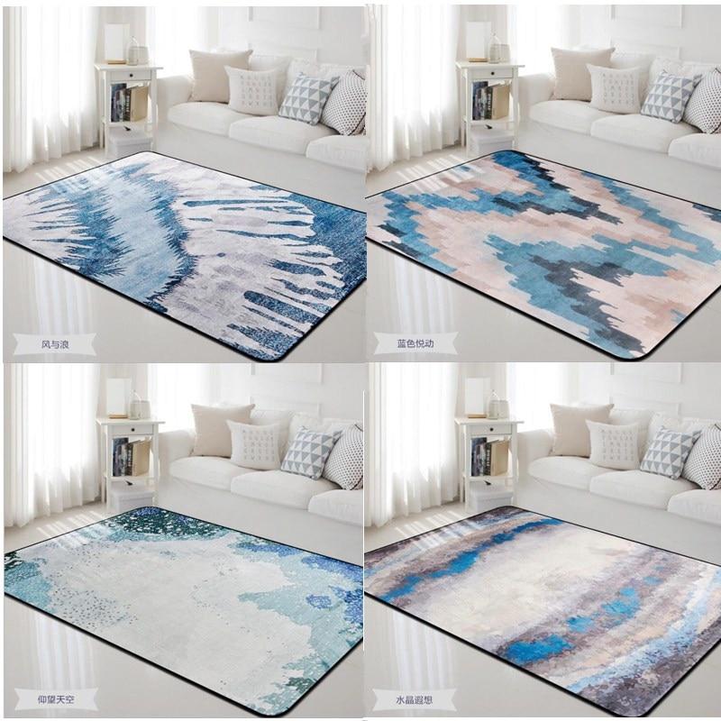 Tapis de Style européen de beauté naturelle pour les tapis de salon et pour la chambre à coucher