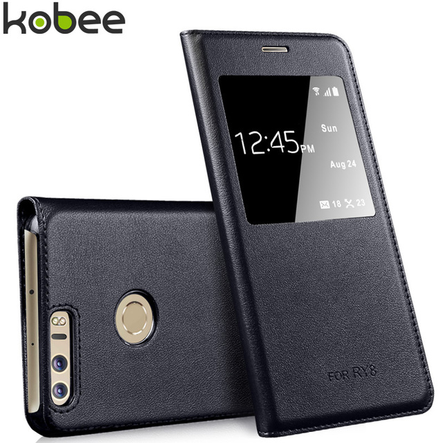 premium selection 245ed 02a89 US $6.99 |Huawei Honor 8 Case Leather Flip 5.2 inch Honor 8 Case Flip Cover  Smart Wake Up Sleep Window Cover Case Honor 8 Bags Accessories-in Flip ...