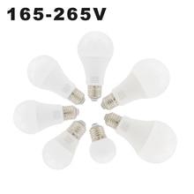 E27 светодиодный светильник 3 Вт 6 Вт 9 Вт 12 Вт 15 Вт 18 Вт 20 Вт лампа с шариковыми шариками 220 В для гостиной, спальни, столовой, чтения, светодиодный белый светильник