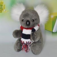 about 22cm scarf koala plush toy soft doll birthday gift b0388