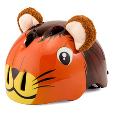 KINGBIKE 3-8 Years Cycling Helmet for Kids Children Bike Bicycle with Donkey Cartoon Pattern Outdoor Sport Skating