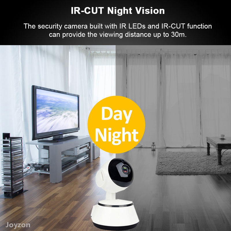 Newest 1080P HD IP Camera WiFi Wireless Auto Tracking Night Vision Home Security Surveillance CCTV Network Baby Monitor Mini Cam
