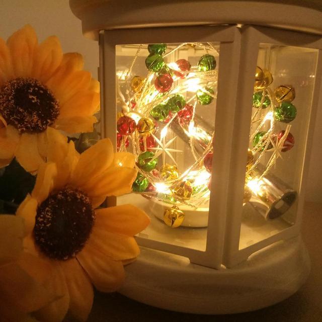 Home Decoration Bottle String Lights LED Battery Copper Wire Light ...