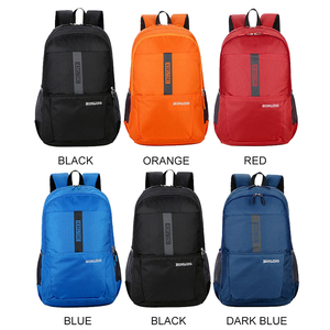 Image 3 - New Nylon Waterproof Lightweight Mens Backpack Casual Large Capacity Women Bag Travel Backpack Sport Bag