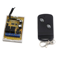 DC12V 24V 10A Relay Wireless Remote Control Switch System 2CH Receiver With Transmitter Wireless Smart Switch For LED Lamp Light
