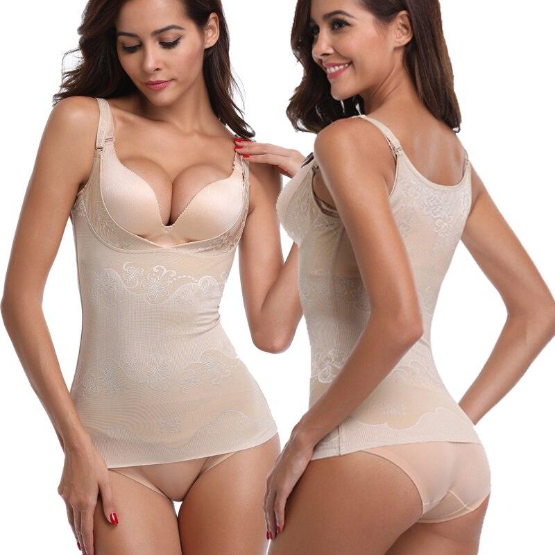 5e96312fc7 Miss Moly Fashion Women Sexy Tempting Strap Compression Shapewear Sleepwear  Shaper Slim Top Underbust Underwear Black Beige-in Tops from Underwear ...