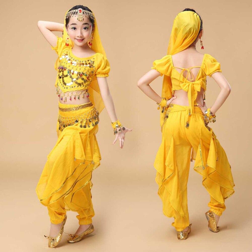 Noviteti i pos. namene ... Plesna odeća ... 32791930768 ... 3 ... 2017 new  Kids Belly Dance Costumes For Girls Suits Sequin Design Ballroom Dancewear Wholesale Children Dancers Top Pants ...