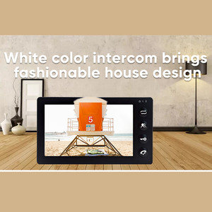 Image 3 - Dragonsview Black Video Intercom System for Home Video Doorbell Camera with Monitor Record SD Card CCTV Camera 1200TVL Motion