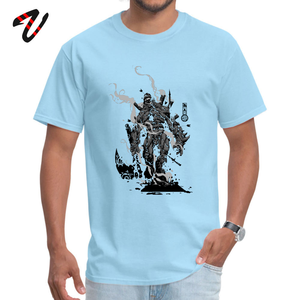 Crazy All Cotton T Shirts for Men Short Sleeve Design Tops T Shirt Brand Summer Crewneck Top T-shirts Design Wholesale The Game of Kings Wave Two The Black King Bish light