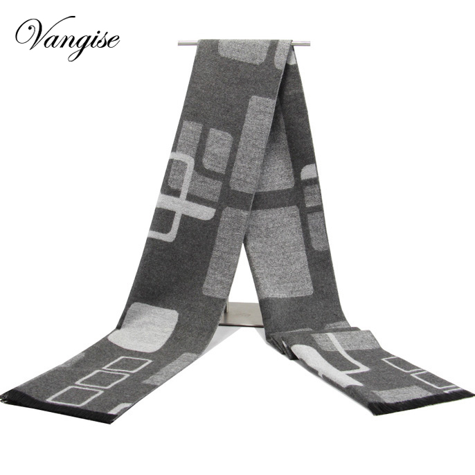 Cashmere   Scarf   luxury Brand 2018 Classic Pashmina   Scarf   men solid printedTassels   Scarves     Wraps   Autumn Winter Men Blanket Shawls