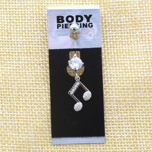 Music Note Belly Button Jewelry