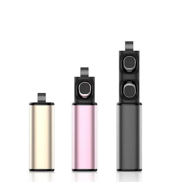 font b 2018 b font TWS Newest True wireless Bluetooth Earphone Wireless Earbuds Headset With