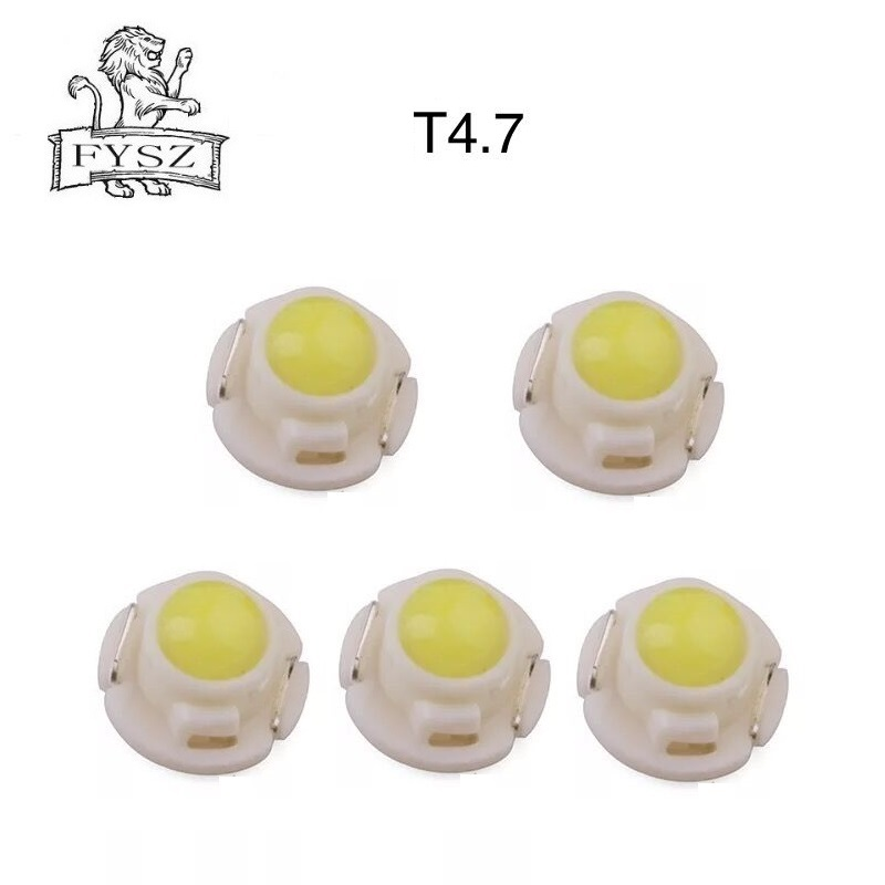 5 Pcs T4.7car instrument light 12V 0.24w LED Dashboard light Dial indicator light vehicle light vehicle instrument panel bulb-in Signal Lamp from Automobiles & Motorcycles