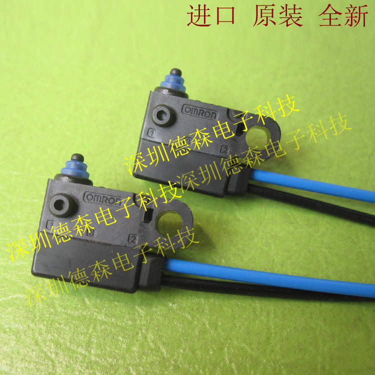 все цены на Original new 100% Japan import D2HW-C203MR sealed fretting switch waterproof and dust proof right out wire micro switch онлайн