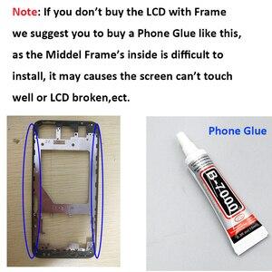 Image 5 - Ocolor para UMI umideli una pantalla LCD y pantalla táctil con marco para UMI umideli One Pro LCD Touch Phone accesorios + herramientas