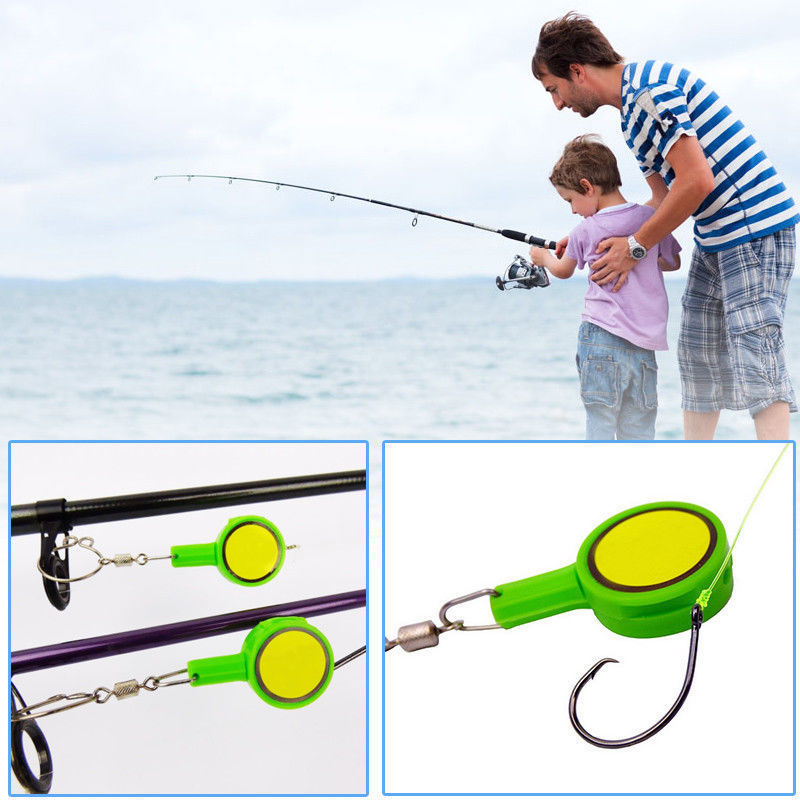 Set Of 2 HOOK New Design EZ Multi-purpose Fishing Device Outdoor Fishing Multi-purpose Fishing Hook Tool