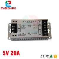 LAVALEE Input DC9 36V Output 5V 20A 30A 40A 60A Power Supply for Taxi LED Display|supply power|supply 5v|supplies car -