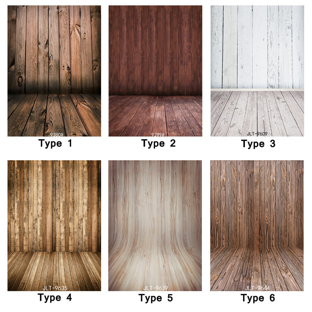 5X7ft Backdrops for Photo Studio Vinyl Background Brown White Wood Floor Wall Photography Backdrop for Baby Children Photo Shoot