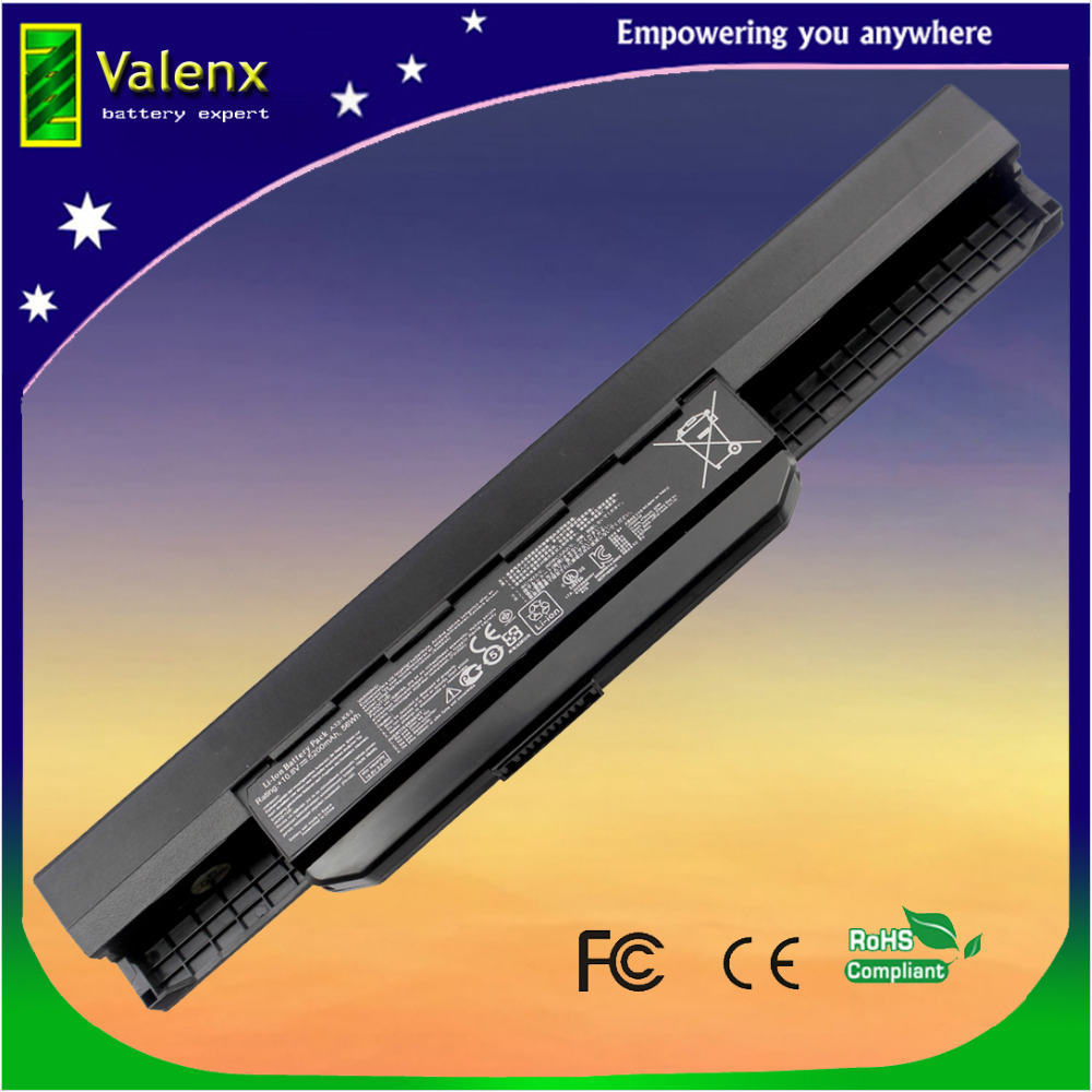 10.8V laptop batteri til ASUS X54C X54H X54HR X54HY X54L X54LY Laptop A41-K53