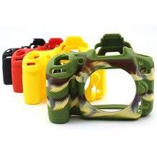Силиконовый чехол для камеры Nikon D750/D5500/D5600/D7100/D7200/D610/D600/D5100/D5200/D7500/D3400, мягкий резиновый чехол для камеры
