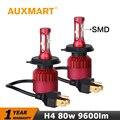 Auxmartt H4 Car LED Headlight Kit SMD 9003 HB2 CREE Chips Auto Head Lamp Fog Light Bulb High Low Dipped Beam
