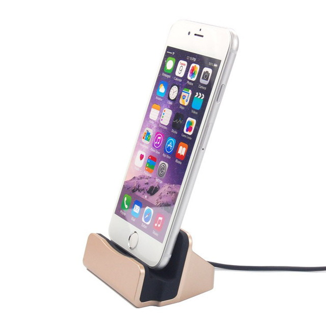 Micro USB Charging Docking Desktop Holder SmartPhone Charger Dock holder Stand For iPhone 6 7 plus Samsung Xiaomi Huawei Meizu