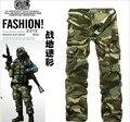 Бесплатная Доставка 2 Цветов 9 Размеров мужская военные брюки мульти-карман камуфляж брюки мужчины брюки-карго армия брюки